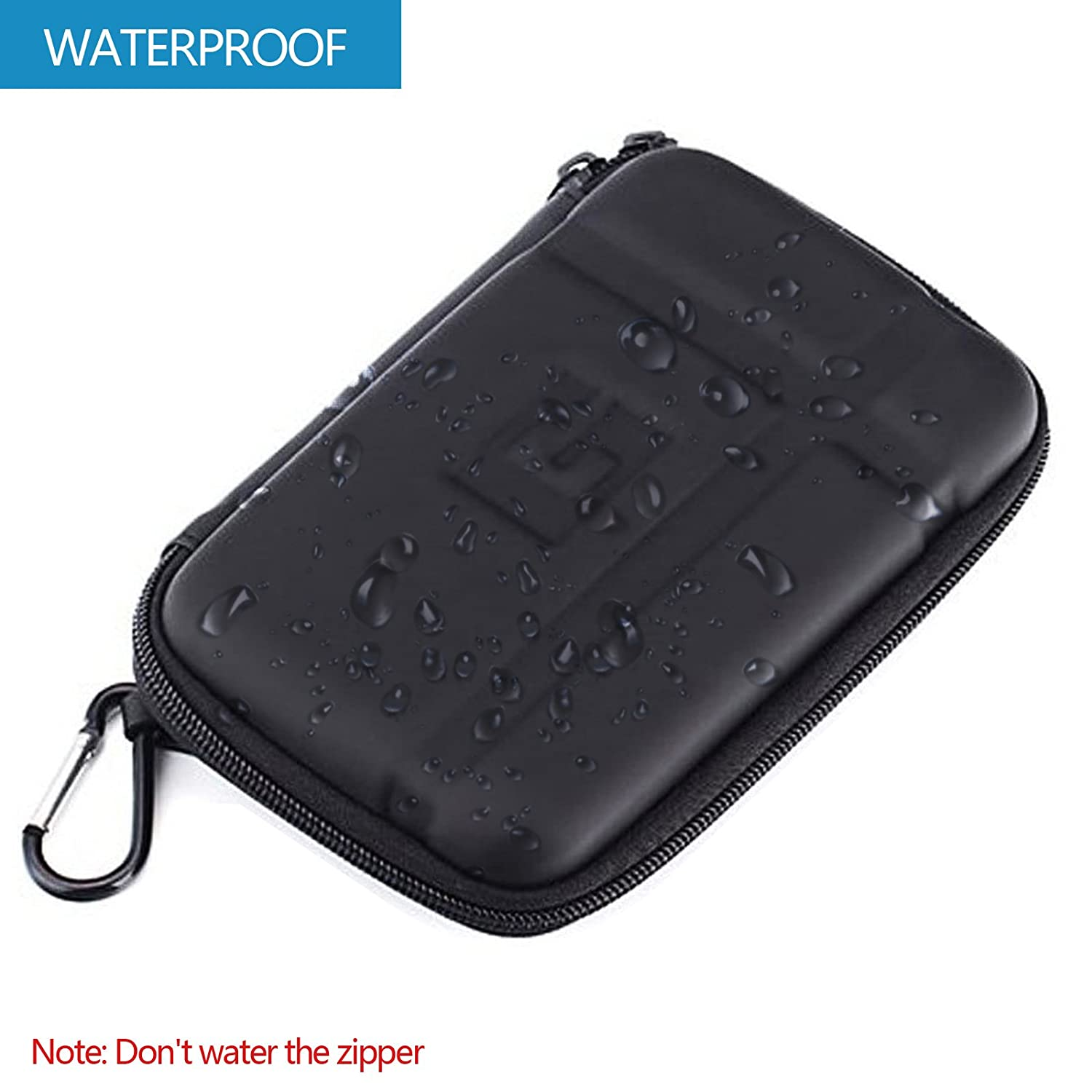 GPS Carrying Case Travel Zipper Hard Shockproof Protective Cover 5 5.2 Pouch Bag for 5 inch Car GPS Navigator Fashionlive 4333155343
