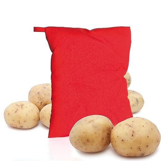 Bolsa Cocedora patatas para microondas: Amazon.es: Hogar