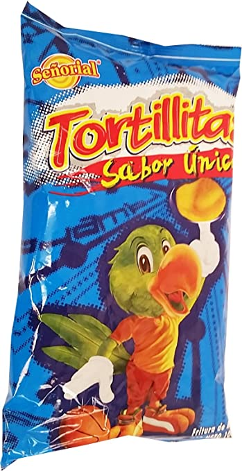 Tortilla Senorial Family Pack Snack 3.5 oz - Chips Paquete Familiar (Pack of 1)