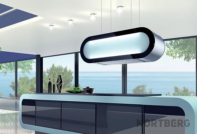 Nort Berg Star Light RGB Campana extractora, Isla, 90 cm: Amazon.es: Grandes electrodomésticos