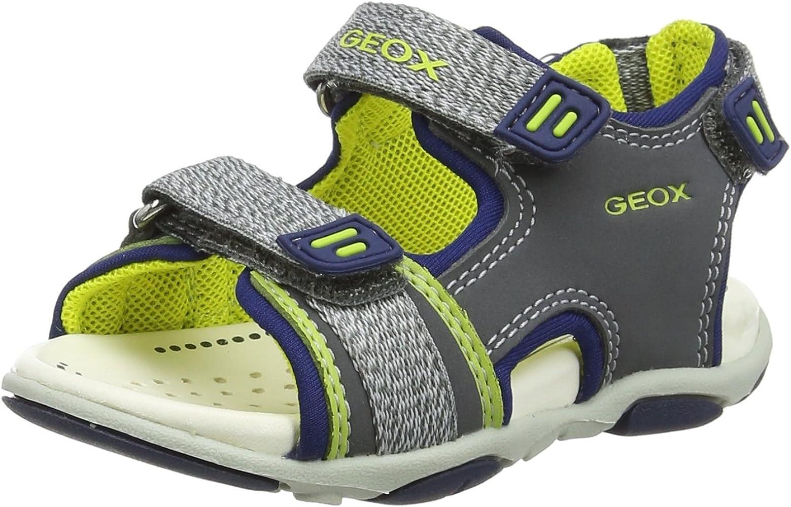Geox B Sandal AGASIM BOY GreyLime: Amazon.ca: Shoes & Handbags