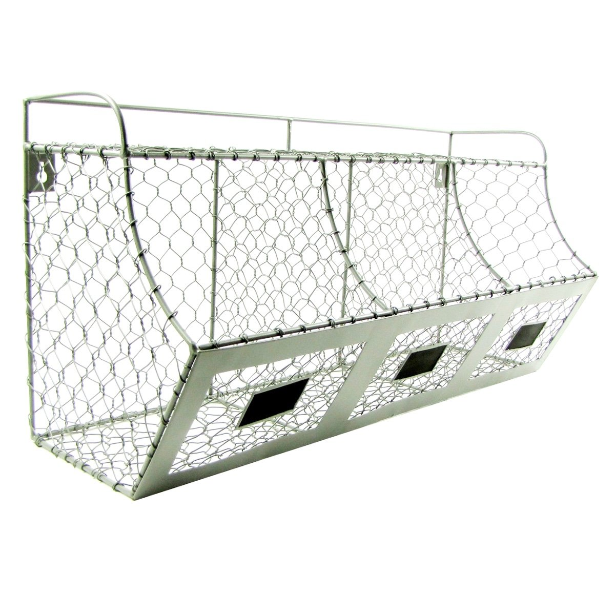 Amazing Rustic Chicken Wire Baskets Motif - Electrical System Block ...