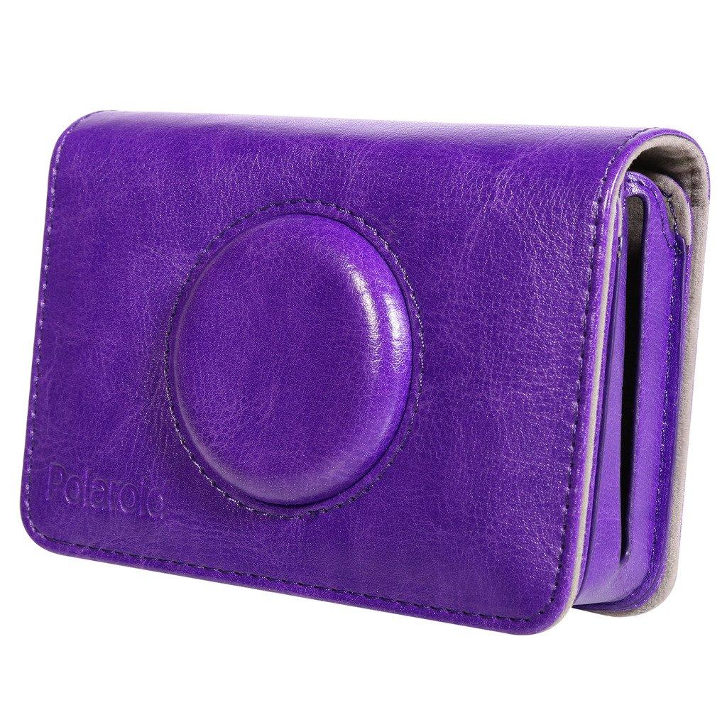 Polaroid Leatherette Case for Polaroid Snap Touch Instant Print Digital Camera – Custom Design for Snug Fit (Purple)