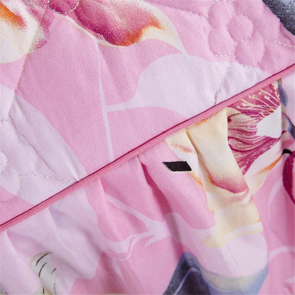 myonly Housse de Matelas Lit Imprim/é Floral Jupe /à Volants Princesse Dentelle Jupe Couvre-lit Lit Drap Housse de Protection /épaissir Queen King Size Tour de lit//taie doreiller 2/pcs