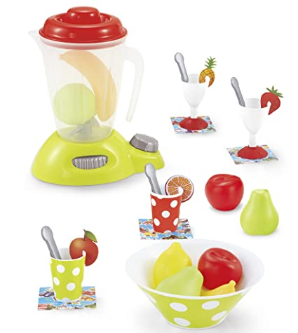 Genius Art Blender Toy - Play Kitchen Accesories - Pretend Food Set with  Appliances for Pretend Play Cooking - New 2018 Edition