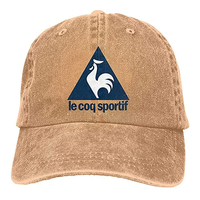 Unisex Le COQ Sportif Logo Dad Hat Gorra de béisbol teñida con ...