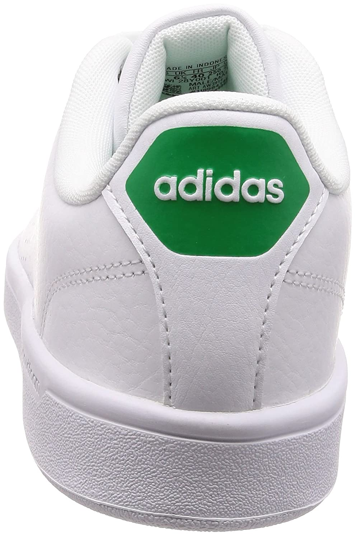 adidas Herren Cloudfoam Advantage Clean Sneaker, weiß, 40 23 EU
