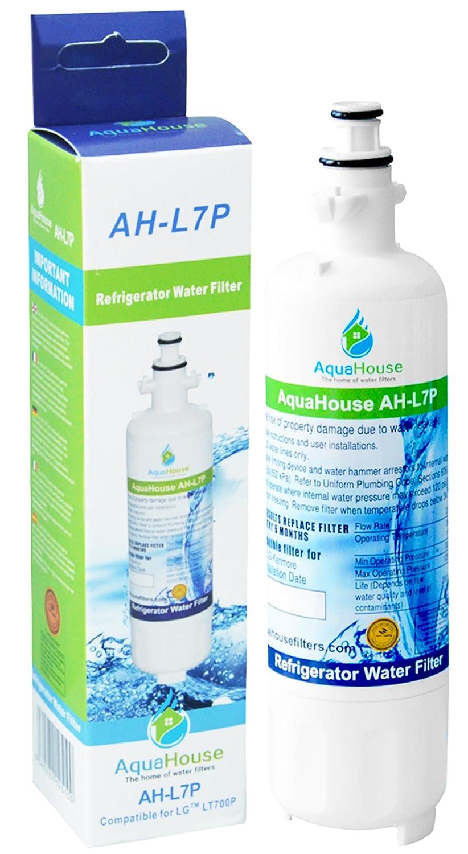 AquaHouse AH-L7P filtro de agua compatibles para LG nevera LG LT700P, ADQ36006101, ADQ36006102, 048231783705, Sears / Kenmore 9690, 46-9690