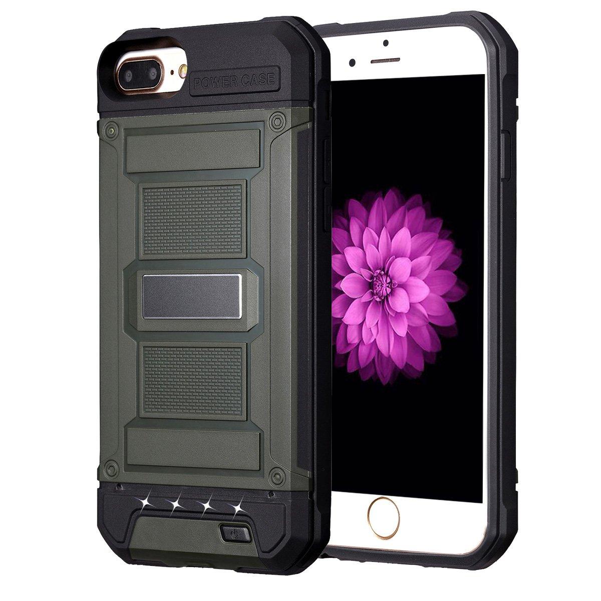 sports shoes 2fb64 6e24f iPhone 8 plus/7 plus/6s plus Battery Case Charger Case