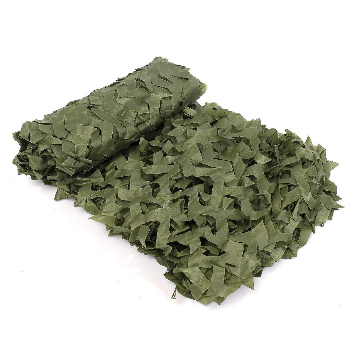 Armée verte 1010M(32.832.8ft) YCYZWZW Filet De Camouflage, pour Camping, Camping, Chasse, Chasse Militaire, Ombre Au Soleil, Fabrication du Filet, Tissu Oxford, Photographie Militaire