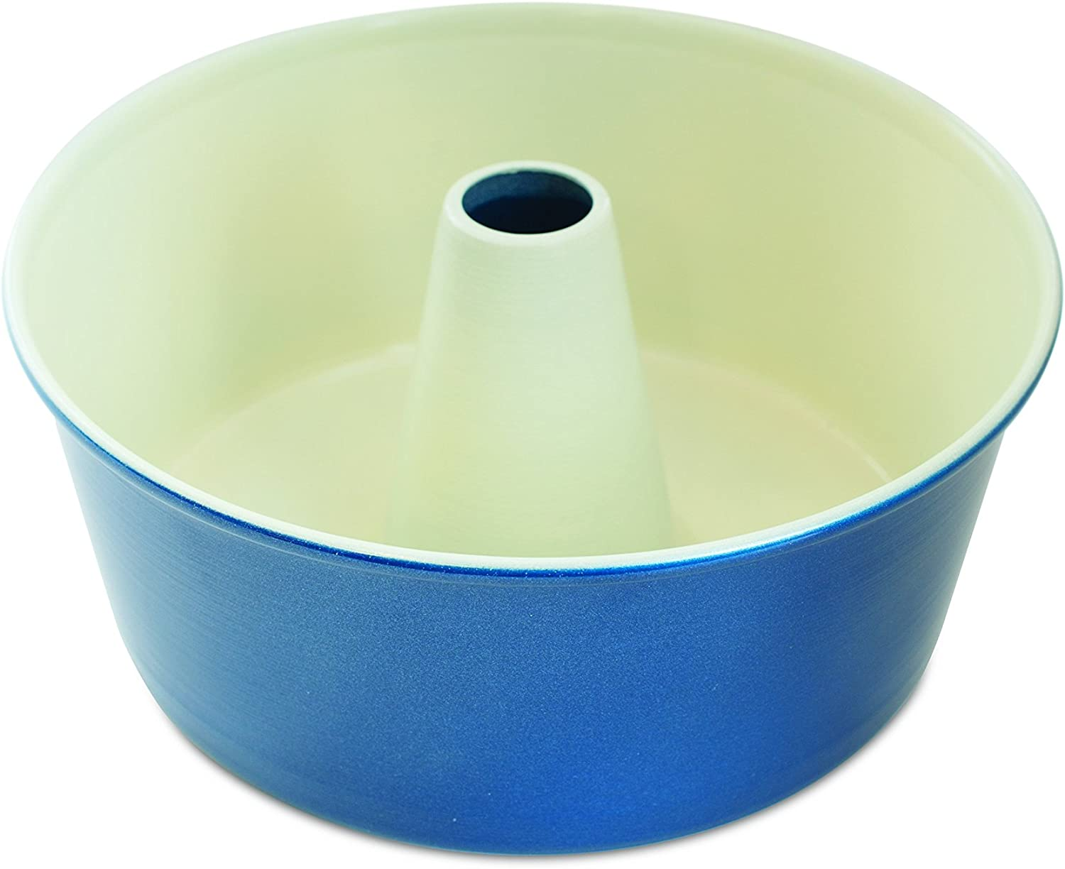 Nordic Ware 50919AMZ 12-Cup Angel Food Cake Pan, Navy