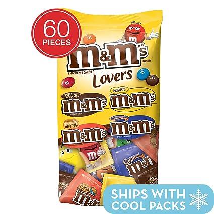 M&MS - Bolsa de 60 piezas para dulces (mezcla variada ...