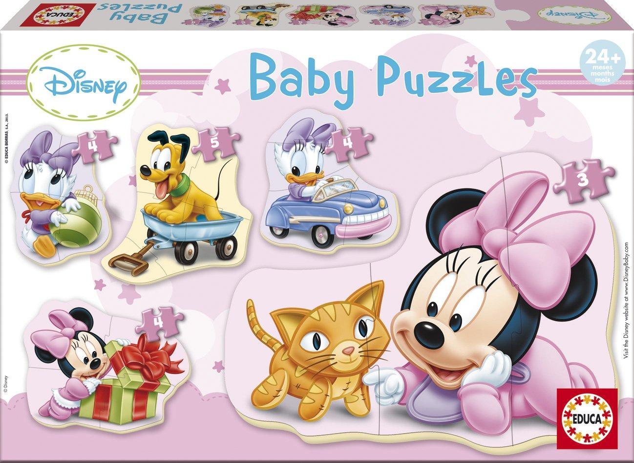 Puzzle progresivo Disney
