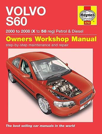 haynes volvo s60 manual amazon co uk car motorbike rh amazon co uk 2008 volvo s60 owners manual 2008 Volvo S80