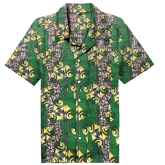 Candow Look Batik Camisa casual para hombre plus size cotton men shirts lQrNwWDYc