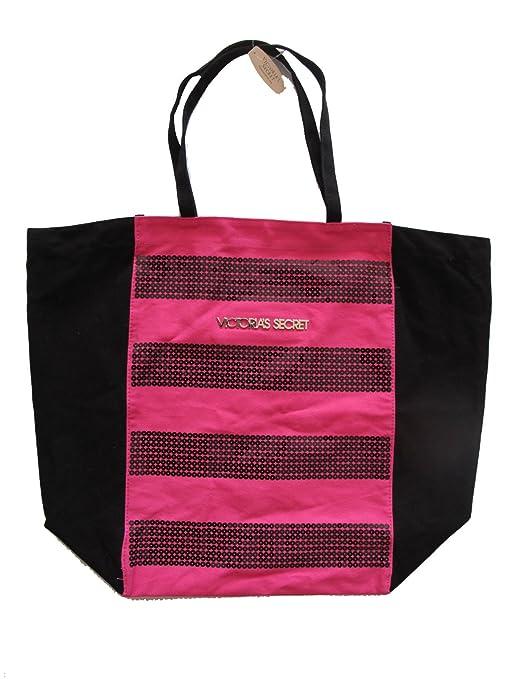 Victoria Secret, Borsa Messenger rosa rosanero: Amazon.it