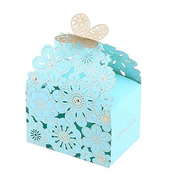 29e93c4b3 BESTOYARD 20pcs Cajas de Dulces de Boda Cajas Dulces de Regalo para Dulces  Caja de Dulces