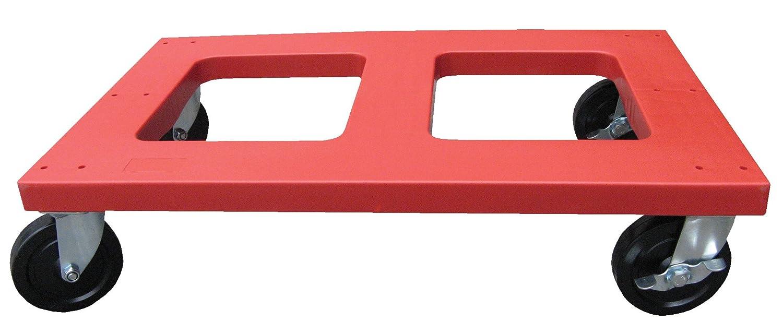 Vestil DOL-1830-F Polyethylene Dolly with Flush Top 1000 lbs Capacity 29-5//8 Length x 17-11//16 Width x 18.5 Height