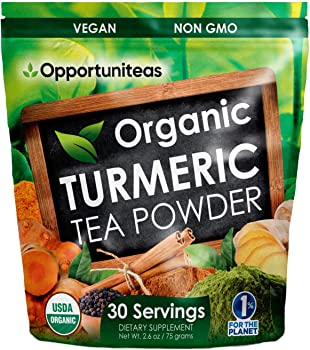 Opportuniteas Matcha Turmeric Tea