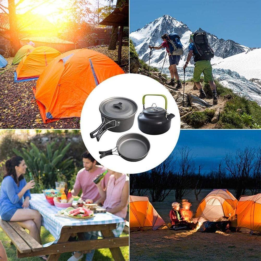 VERLOCO Set De Camping Al Aire Libre, Utensilios De Cocina Multifuncionales, Muchos Tipos Ligero Y Duradero, para Pesca//Supervivencia//Senderismo//Al Aire Libre//Picnic