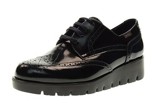 f60f09dd022 Callaghan 89812.4 Zapatos Atados Mujer Talla 37 Azul de Medianoche   Amazon.es  Zapatos y complementos