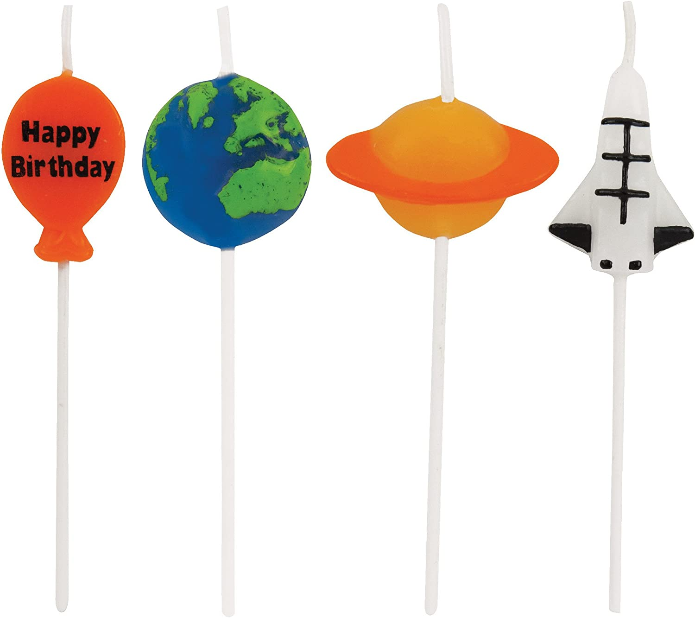 "Creative Converting Picks Candle, 3"", Multicolored"