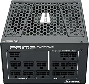 Seasonic Flagship Prime Series SSR-850PD 850W Platinum Full Modular ATX12V & EPS12V 135mm FDB Fan Super Quiet Power Supply