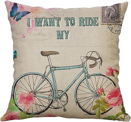 Aniyoge fundas de almohada, diseño de primavera, decoración de ...