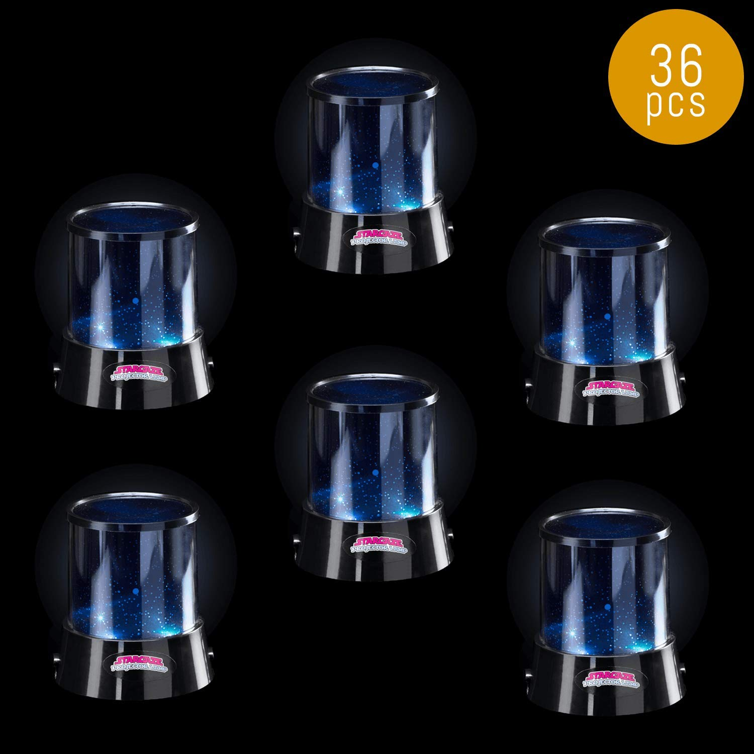 Lumistick LED Cosmic Star Projector Lamp | Rotating Colorful Romantic Cosmos Cover Ocean Star Kids Constellation Night Light (36 Lamps)