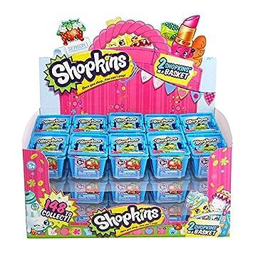 amazon com shopkins shopping basket season 1 case of 30 toys games