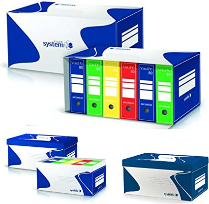 Cartón Cajas de documentos Archivos Bankers sistema de almacenamiento Caja Organizador de Oficina Archivo: Amazon.es: Oficina y papelería