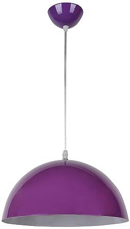 Lampex 321/Z1 FIO Lámpara colgante Luna Z1, morada: Amazon ...
