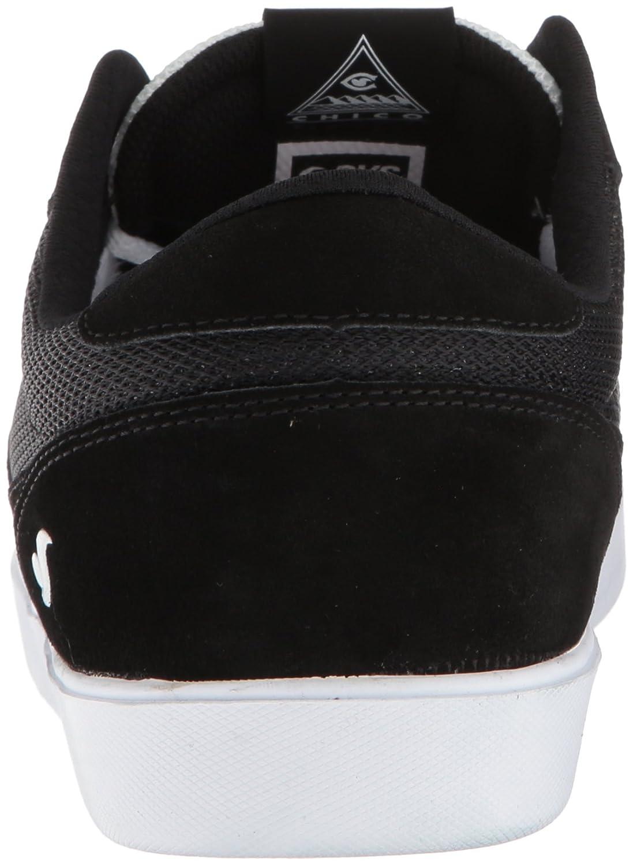 Dvs Footwear Hombres Calzado de presión SC + Skate Shoe Negro   Blanco  Suede Chico 3110d10cca4