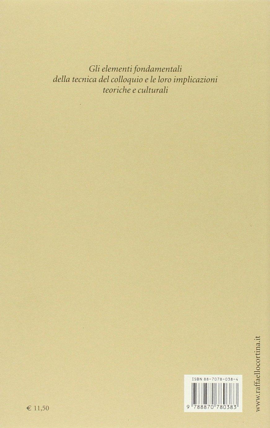 tecnica del colloquio semi  : Tecnica del colloquio - Antonio A. Semi - Libri