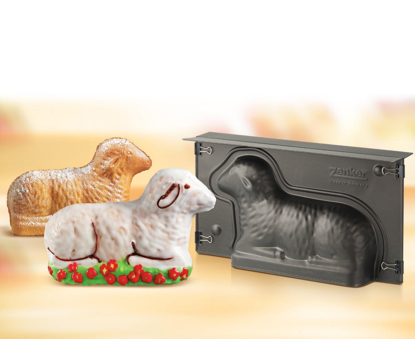 Zenker 9101''Special Season'' Lamb-Baking Tin, Black, 10.83 x 5.90 x 2.56'' by Zenker (Image #5)