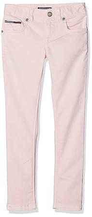 Tommy Hilfiger Ame Nora RR Skinny STSAT GD, Jeans para Niñas ...