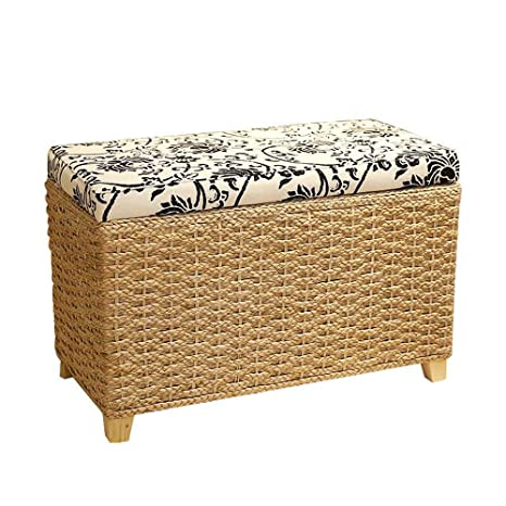 Wondrous Amazon Com Shisedeco Large Storage Ottoman Bench Bed Gmtry Best Dining Table And Chair Ideas Images Gmtryco