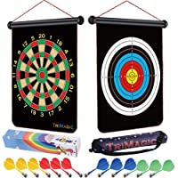 TriMagic Magnetic Dart Board - Best Birthday Toy Gift for 6 7 8 9 10 12 Year Old...