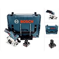 Bosch GKS 12V–26Professional Scie circulaire dans coffret L-Boxx + 1x GBA Batterie 12V 4Ah batterie.
