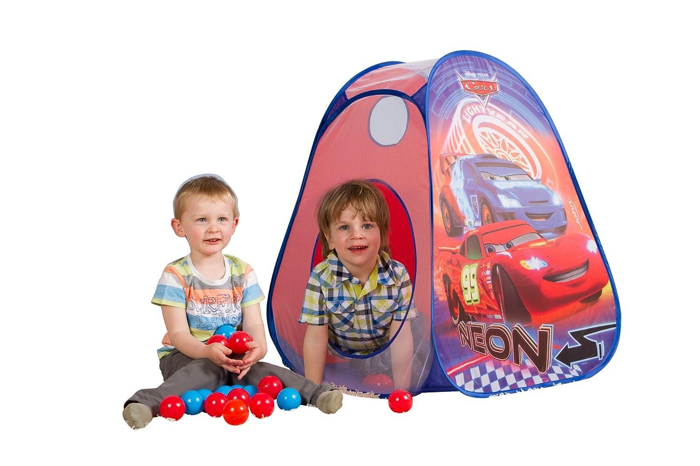 Pop Up Ball-Haus Cars Neon mit 30 B/ällen