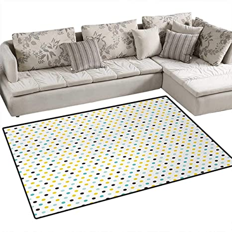Super Amazon Com Kitchen Floor Mat Polka Dots Rounds Vintage Caraccident5 Cool Chair Designs And Ideas Caraccident5Info