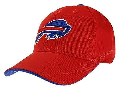 Amazon.com   Outerstuff Buffalo Bills NFL Youth Performance Flex Cap ... 45bd3ec01
