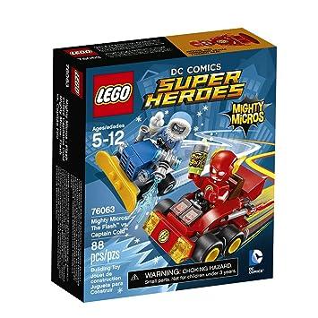 LEGO Super Heroes Mighty Micros: The FlashTM vs. Captain Co 76063 by LEGO: Amazon.es: Juguetes y juegos