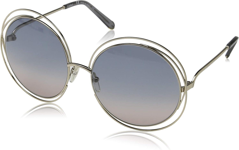 Chloè CE114S 770 62 Gafas de sol, Gold/Transp Grey/Grad Blue, Mujer: Amazon.es: Ropa y accesorios