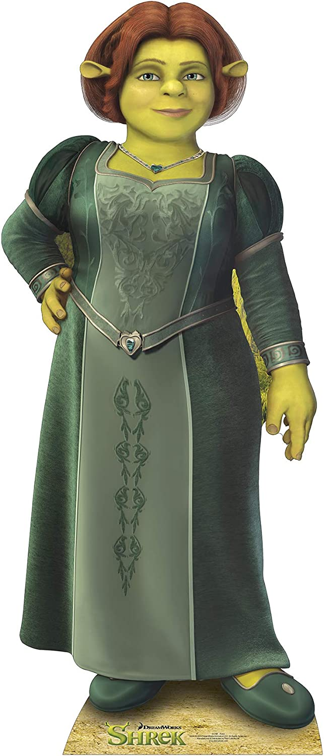 Fiona from Shrek 63 x 27 Movie-Themed Stand-In Star Cutouts Cardboard Cutout Stand-Up