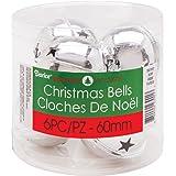 "Darice 30015607 Jingle Bells W/Cutouts (6 Pack), 2.3"""