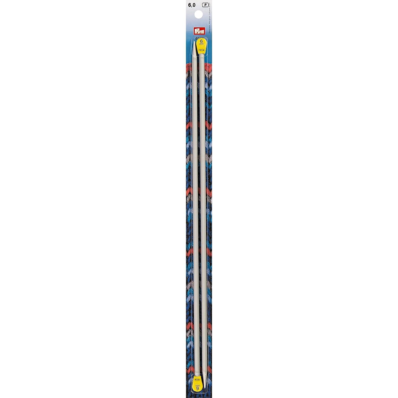 Aluminium Knitting Needle 6mm, 40cm Long Prym