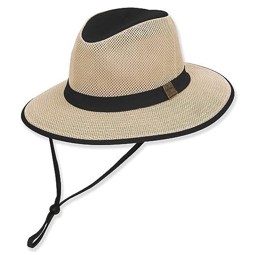 a990881ddebea Guy Harvey Mens Mesh Fishing Hat One Size Black at Amazon Men s ...