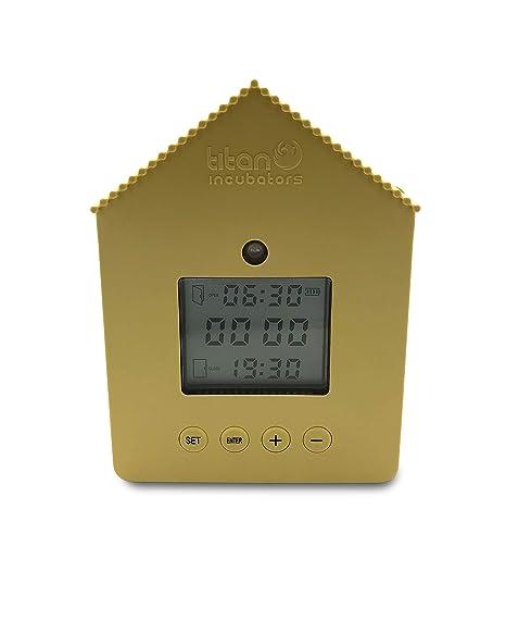 Metal Door Chicken House Automatic Door Opener Light Sensor /& Timer