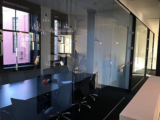 Cristal endurecido oficina o casa particiones en 10 mm y 12 mm de grosor Transparente acabado